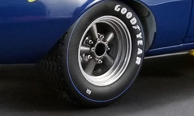GMP 18864 1:18 Altered Drag Wheel /& Tire Pack 1:18 NEW!!!